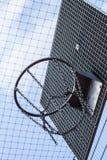 Cercle 01 de bball de cage Photo stock