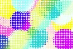 Cercle de beaucoup de coloré et de beau Photographie stock libre de droits