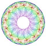 Cercle de cercle illustration stock