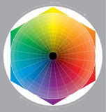 Cercle de couleur Photo libre de droits