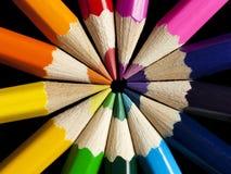 Cercle de couleur Photographie stock