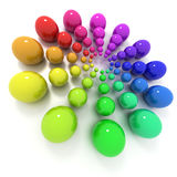 Cercle de couleur Image libre de droits