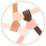 Cercle de Frienship illustration libre de droits
