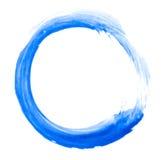 Cercle de griffonnage d'aquarelle Photographie stock libre de droits