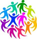 Cercle de l'humanité/ENV Image stock