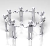 Cercle de l'unité et de l'égalité illustration libre de droits