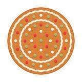 Cercle de pain d'épice Images stock