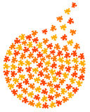 Cercle de puzzle Images libres de droits
