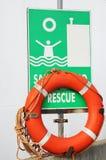 Cercle de sauvetage Image stock