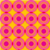 Cercle de tache floue Images libres de droits