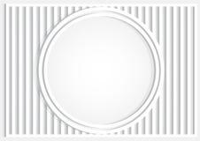 Cercle de texture et ligne gris fond avec l'ombre illustration stock