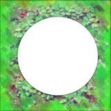 Cercle de trame de forêt Photographie stock libre de droits