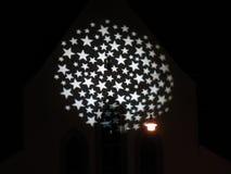 Cercle des étoiles Photos libres de droits