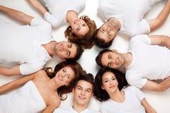 Cercle des amis de loisirs Photo libre de droits