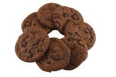 Cercle des biscuits Photographie stock libre de droits