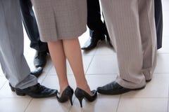 Cercle des pieds images libres de droits