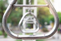 Cercle en acier pour s'élever images libres de droits