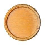 Cercle en bois Image libre de droits