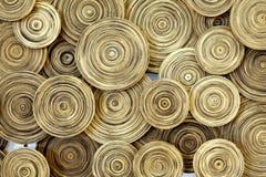 Cercle en bois Photos libres de droits