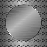 Cercle en métal Photos libres de droits