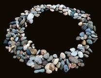 Cercle en pierre Images libres de droits