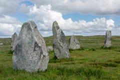 Cercle en pierre de Callanish Photographie stock
