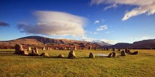 Cercle en pierre de Castlerigg Photos libres de droits