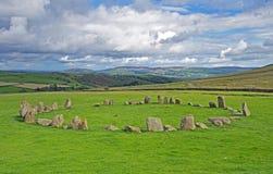 Cercle en pierre de Swinside Photo stock