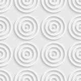 Cercle et Ring Pattern sans couture Photos libres de droits