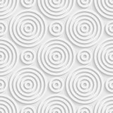 Cercle et Ring Pattern sans couture Photographie stock libre de droits