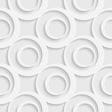 Cercle et Ring Pattern sans couture Photo libre de droits