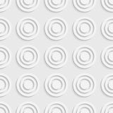 Cercle et Ring Pattern sans couture Images stock