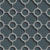 Cercle et Ring Pattern sans couture Image stock