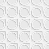 Cercle et Ring Pattern sans couture Images libres de droits