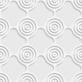 Cercle et Ring Pattern sans couture Photographie stock