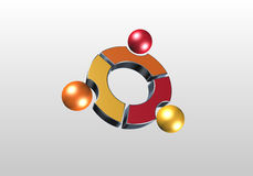 Cercle et sphère Image libre de droits