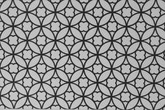 Cercle géométrique noir et gris à l'arrière-plan dans le style de vintage Images stock