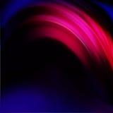 Cercle, image abstraite colorée ondulée Photos libres de droits