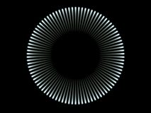 Cercle léger bleu Images libres de droits