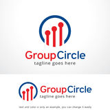 Cercle Logo Template Design Vector, emblème, concept de construction, symbole créatif, icône de groupe Photos libres de droits