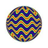 Cercle lumineux Image libre de droits
