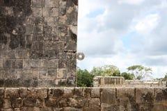 Cercle maya de bille images libres de droits