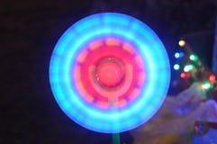 cercle Milieux de Bokeh pour la conception Effets de couleur et de tache floue Photo libre de droits