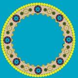 Cercle modelé Photo libre de droits