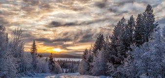 Cercle polaire de nature Images libres de droits