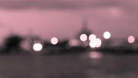 Cercle rose-clair de bokeh de fond Photos stock