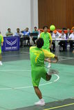 Cercle Takraw : Chonburigame Thaïlande Photo libre de droits