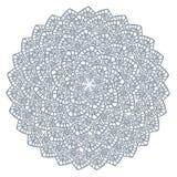Cercle tiré par la main de conception de vecteur de cadre de dentelle de fond décoratif d'élément illustration de vecteur