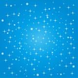Cercles, étoiles, fond, illustration de vecteur