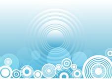 Cercles abstraits illustration libre de droits